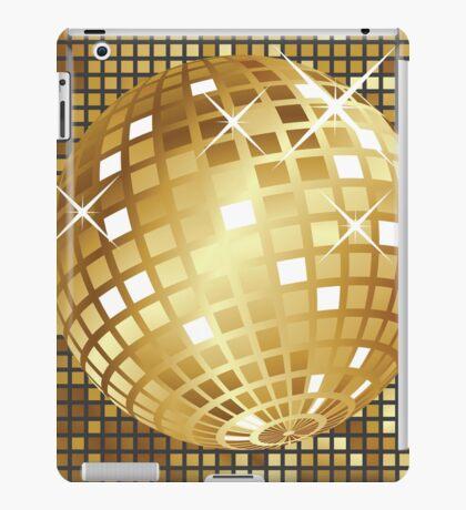 Goldene Discokugel iPad-Hülle & Klebefolie