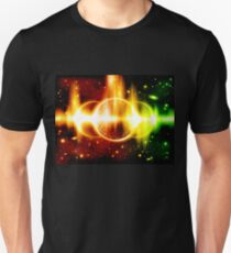 Retro space background T-Shirt
