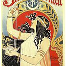 Art Nouveau from magazine cover 1896 by katastrophy
