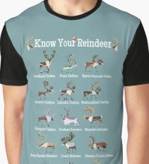 Know Your Reindeer Graphic T-Shirt