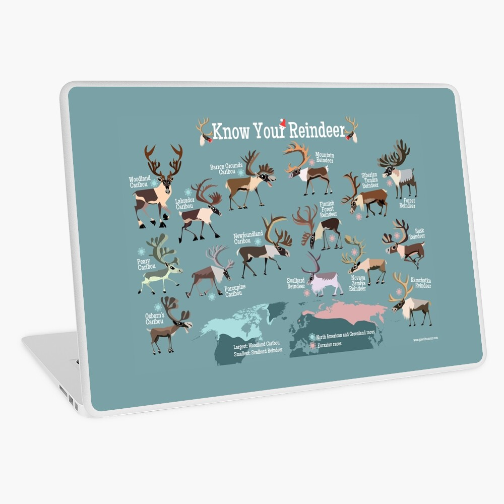 Know Your Reindeer Laptop Skin