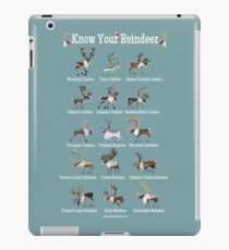Know Your Reindeer iPad Case/Skin