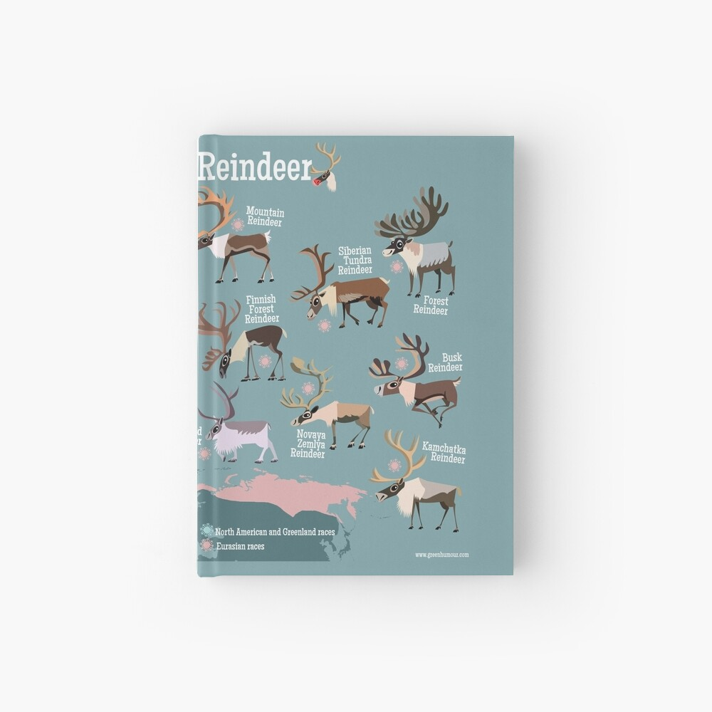 Know Your Reindeer Hardcover Journal