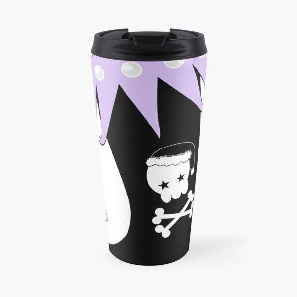 Pastel Goth Christmas | Creepy Stocking | Santa Skull & Cross Bones Travel Mug
