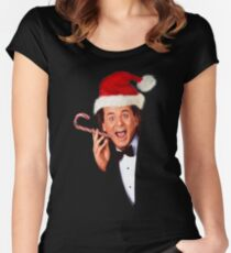FESTIVE MURRAYMENT Women's Fitted Scoop T-Shirt