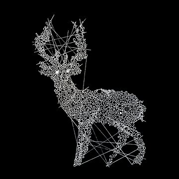 Dotted Deer by milicaziva