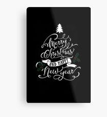 Holiday design - Christmas Metal Print