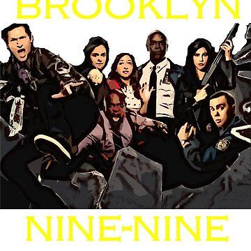 Brooklyn Nine-Nine squad  by PopClothing