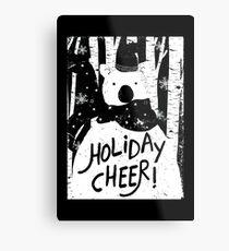 Holiday Design - Winter: Holiday Cheer Metal Print