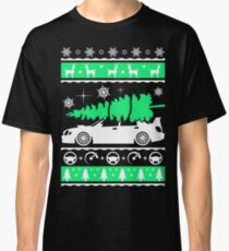 Subaru Impreza Car Ugly Christmas Shirt, Perfect Xmas gift for driver Classic T-Shirt
