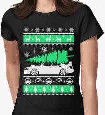 Subaru Impreza Car Ugly Christmas Shirt, Perfect Xmas gift for driver Fitted T-Shirt