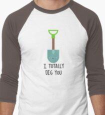 I totally dig you Men's Baseball ¾ T-Shirt