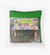 """""""Power of KINDNESS"""" - Tiled Bench Throw Pillow"""