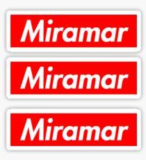 Miramar Supreme Stickers x3 Sticker