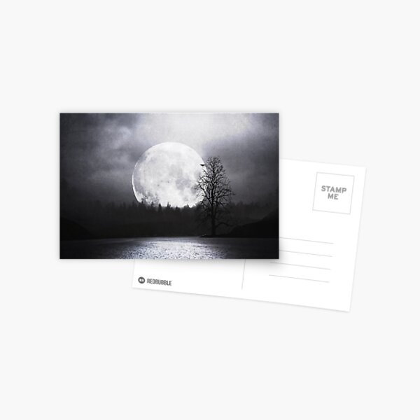 When Night Is Falling Postcard