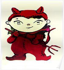 cute evil Poster