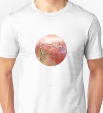 Aries horoscope symbol constellation Unisex T-Shirt