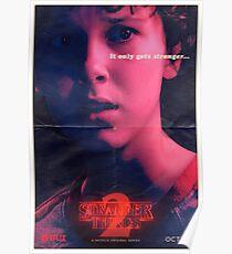 Stranger Things Eleven Poster