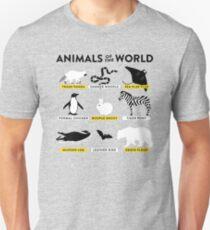 Animals of the world Unisex T-Shirt