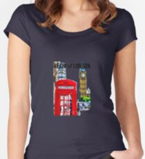 London Icons Women's Fitted Scoop T-Shirt