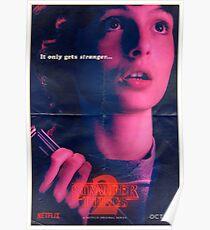 Stranger Things Mike Wheeler Poster