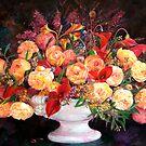 Rose by liboart