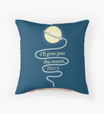 It's a Wonderful Life - I'll give you the moon, Mary Throw Pillow