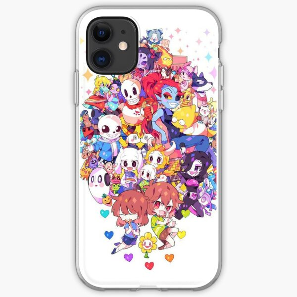 Undertale Heart iPhone Soft Case