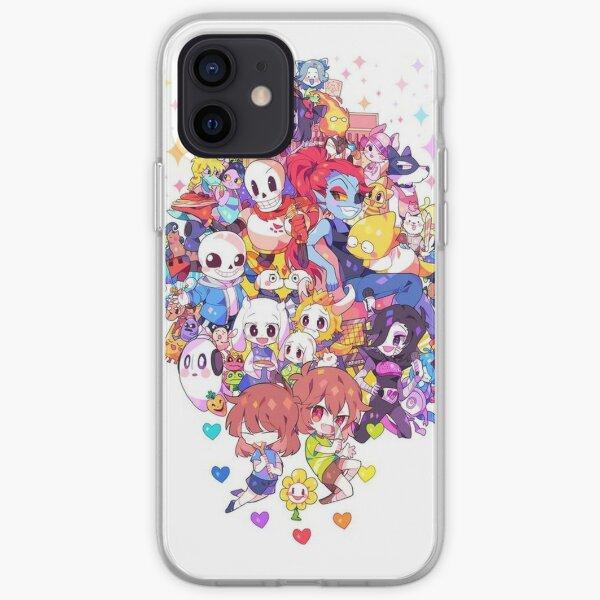 Undertale Heart iPhone Soft Case