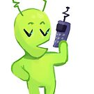 Talk To Me Alien! by labradollars