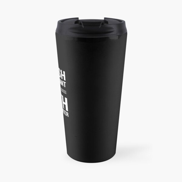 English Is Important But Math Is Importanter Funny Travel Mug