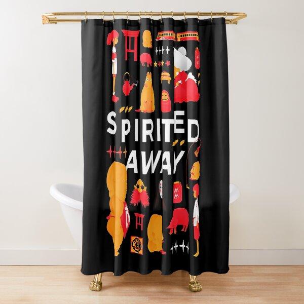 Chihiro Adventure Shower Curtain