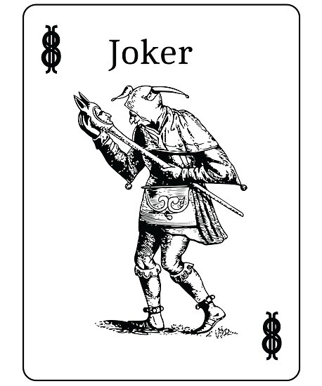 Quot Joker Poker T Shirt Playing Cards Design Quot Posters By Guy