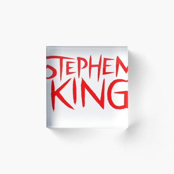 Stephen King Acrylic Block