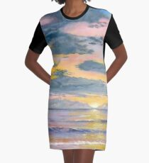 Here Comes the Sun Graphic T-Shirt Dress