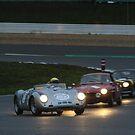 Porsche 550 Spyder Night by vintagecars
