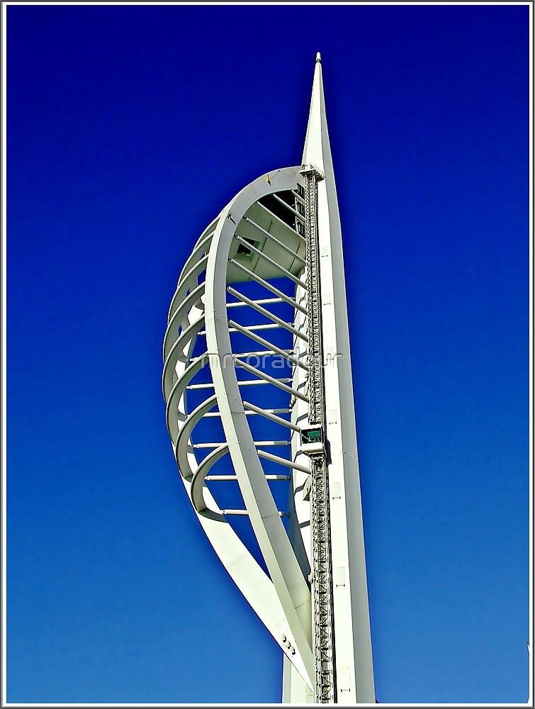 !Spinaker Tower Portsmouth Harbour! by Malcolm Chant