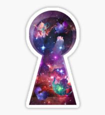 Alice in Wonderspace Sticker