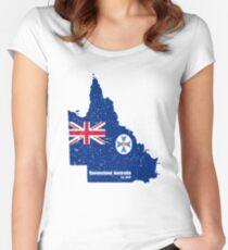 Queensland, Australia  Women's Fitted Scoop T-Shirt