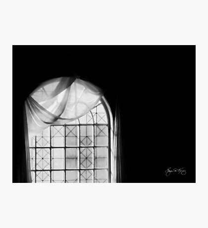 Arched Window Black and White #2 Photographic Print