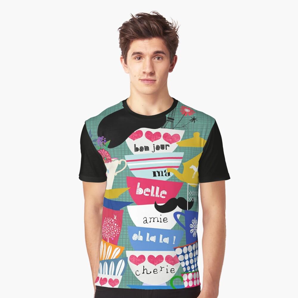 Bonjour ma Belle Graphic T-Shirt