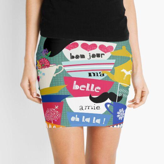 Bonjour ma Belle Mini Skirt