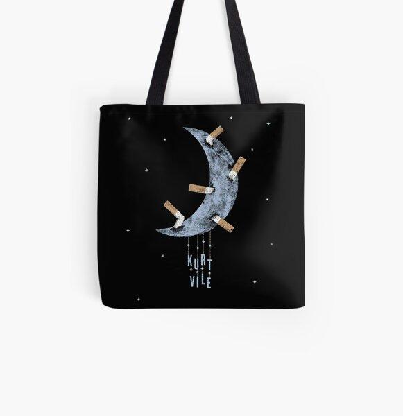 Kurt Vile Moon All Over Print Tote Bag