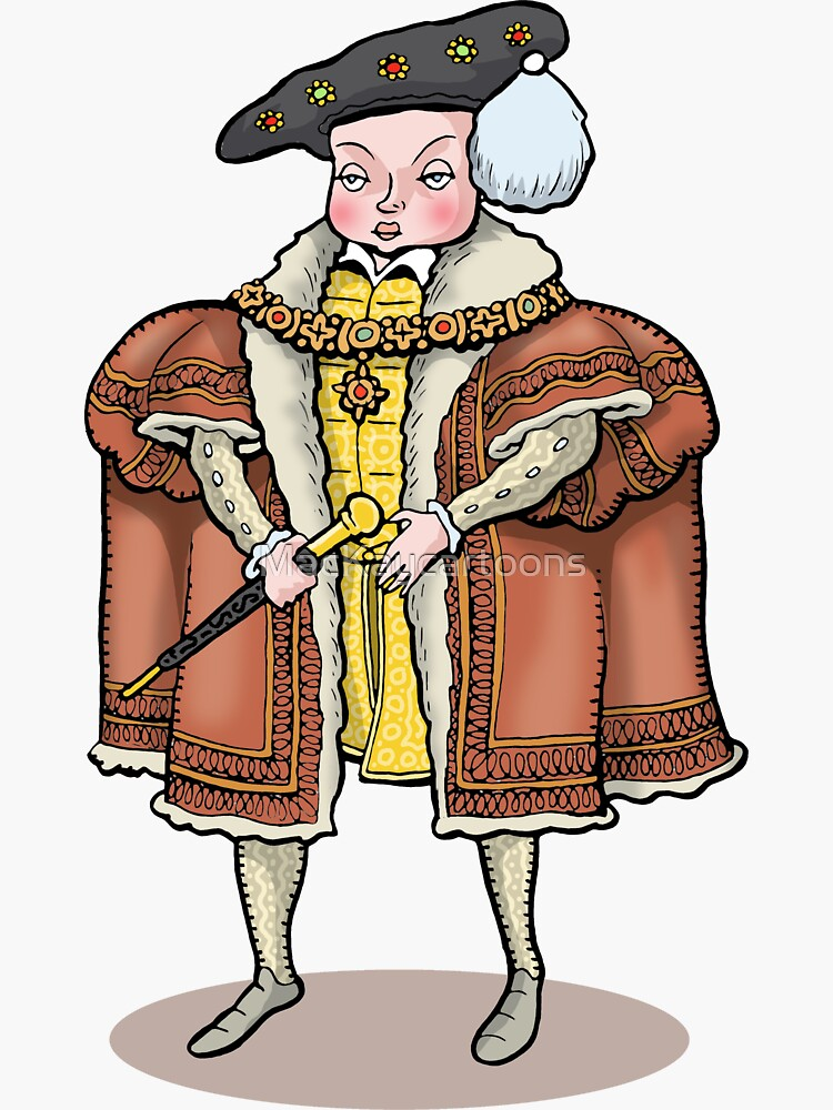 King Edward VI by MacKaycartoons