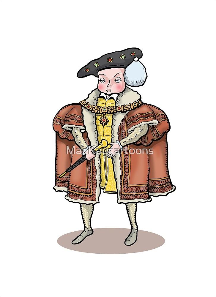 King Edward VI by MacKaycartoons