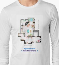 Jack McFarland's apartment form 'Will and Grace' Long Sleeve T-Shirt