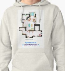 Jack McFarland's apartment form 'Will and Grace' Pullover Hoodie