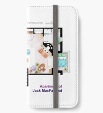 Jack McFarland's apartment form 'Will and Grace' iPhone Wallet/Case/Skin