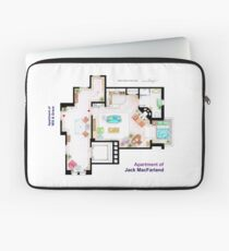 Jack McFarland's apartment form 'Will and Grace' Laptop Sleeve