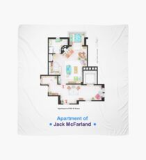 Jack McFarland's apartment form 'Will and Grace' Scarf